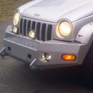 Jeep Liberty KJ KK Wincher Metal Bumper PIAA 510 Light Kit
