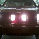 Jeep Grand Cherokee Behind the Grille Driving Lights Lamps Kit