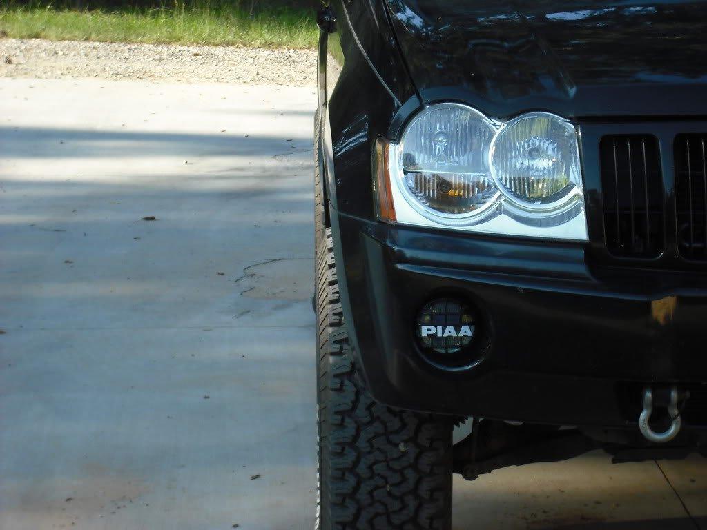 2005-2010 Jeep Grand Cherokee WK PIAA 510 Light Kit