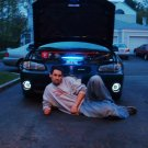 1997-2003 Pontiac Grand Prix Halo Fog Lamps White Angel Eye Lights