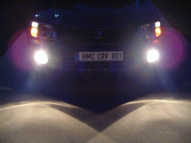 1997-2001 Honda CR-V Angel Eye Halo Fog Lamps Lights Kit