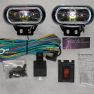 Hella Optilux 1770 Rainbow Lens Rectangular Fog Light Kit