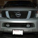 Nissan Pathfinder PIAA 510 Bumper Grille Driving Lights Kit