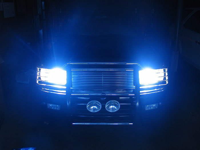 9006 HB4 10000K 55 Watt Deep Blue Head Light Lamp Conversion
