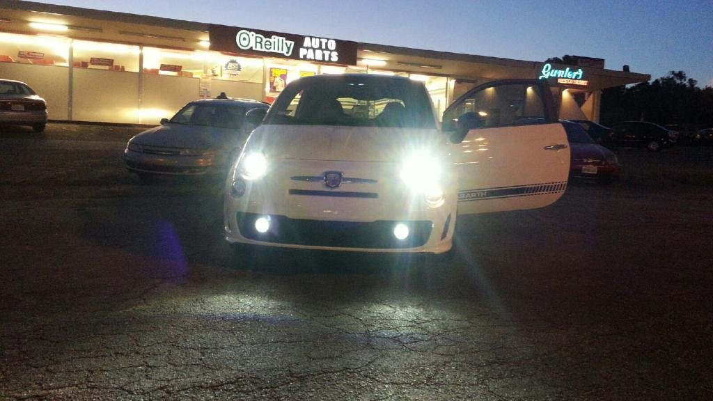 2007-2017 Fiat 500 500c Xenon Fog Lamps Driving Lights