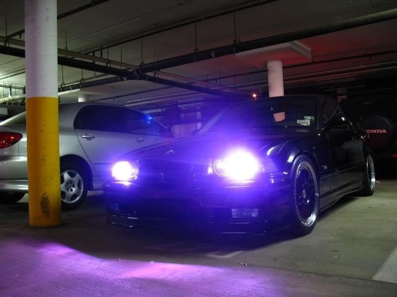 H9 12,000K 55 Watt Purple Xenon HID Conversion Kit 55w