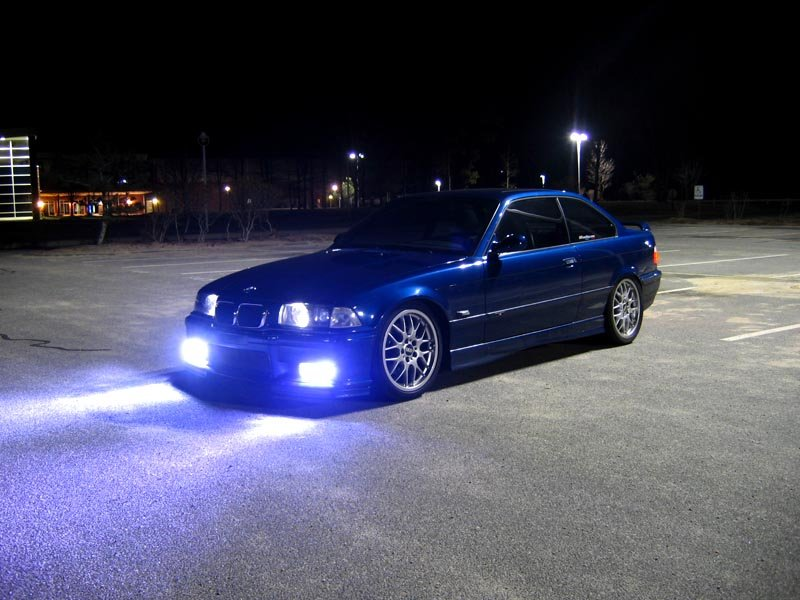 H13 9008 8,000K Medium Blue 55w High Low Xenon HID Kit