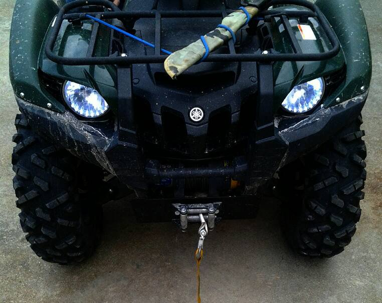 Yamaha Grizzly LED Angel Eye Strip Lights DRL Halo Lamps