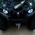 Yamaha Grizzly LED Angel Eye Strip Lights DRL Halo Lamps