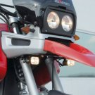 BMW R850GS R1100GS Hella Super White Fog Lamps Driving Lights Kit
