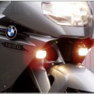 BMW K1200S Hella Super White Driving Lights Fog Lamps Kit