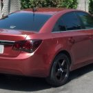 Chevrolet Cruze Tinted Tail Lamp Overlays Light Film Covers