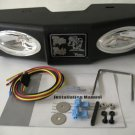 "WhiteNight Rear Fixed Mount Unit 0004199 2"" Tow Hitch Trailer Reverse Lamps Towing Lights Backup"