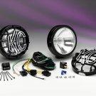 KC HiLites 124 SlimLite Black 100w Driving Lights Kit