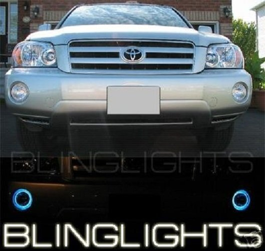 2001-2007 Toyota Highlander Angel Eye Fog Lamps Driving Lights