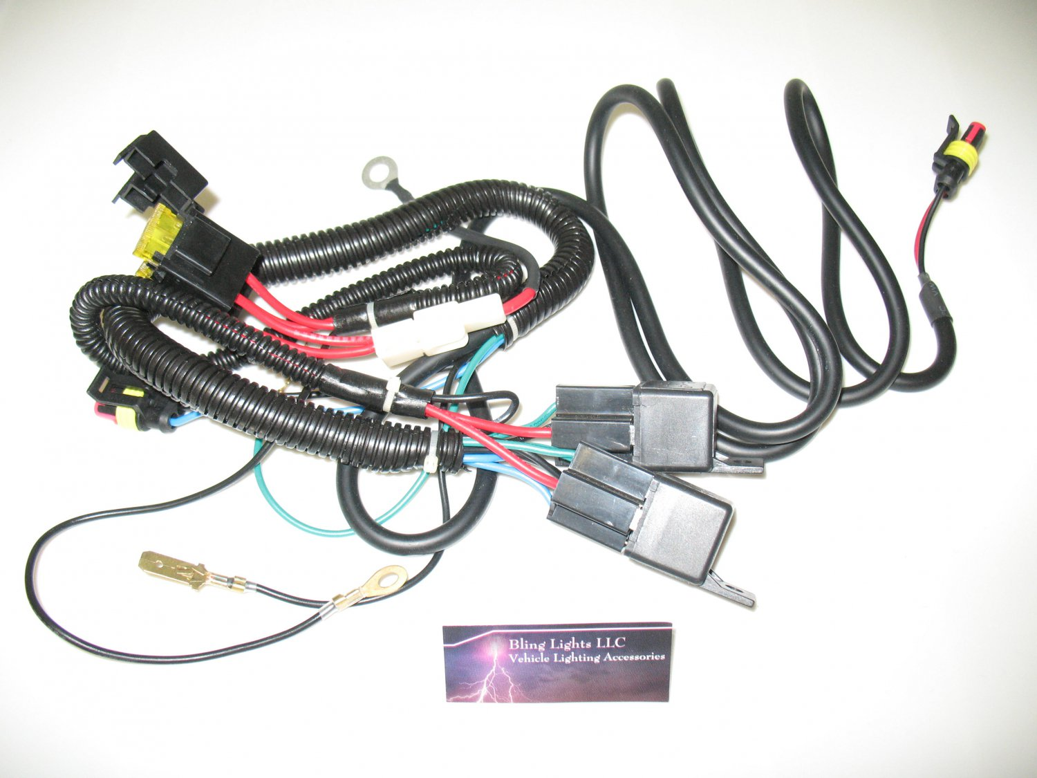 Putco H4 9003 Heavy Duty Headlight Upgrade Wiring Harness Kit Led Headlamp Kc Hilites H13 To Conversion Cable Available Via