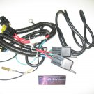 H4 Low Beam HID Conversion Kit Universal Single Beam Relay Wiring Harness