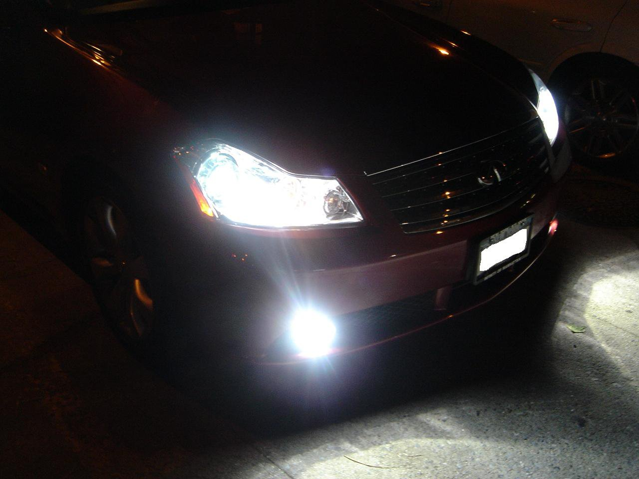 2008 2009 2010 Infiniti M35 M45 Xenon Fog Lights Kit