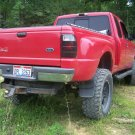 Ford Ranger Tinted Taillight Overlay Film Lens Covers