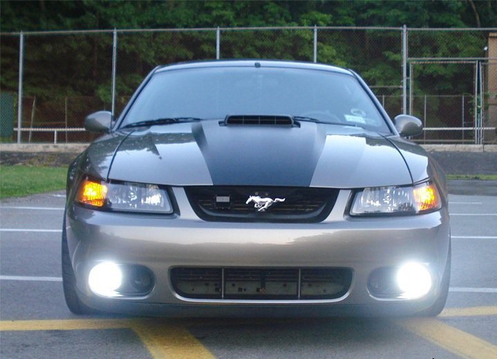 1999-2004 Ford Mustang GT SVT Cobra Fog Lamps Driving Lights