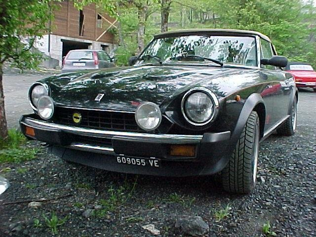 Fiat 124 Spider Coupe Bumper Grille Driving Lights Fog Lamps Kit