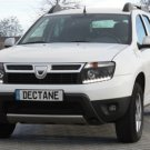 Dacia Duster LED DRL Head Light Strips Daytime Running Lamps