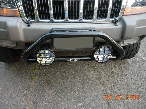 Jeep Grand Cherokee Bumper Lamp Bar PIAA 510 Star White Driving Light Kit