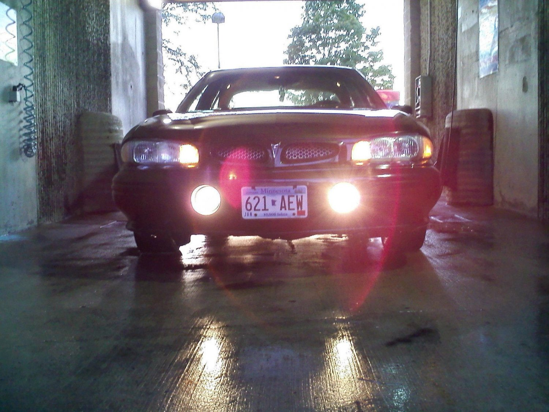 1992-1999 Pontiac Bonneville SSEi Angel Eye Fog Lamps Driving Lights