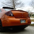 Pontiac G6 Tinted Tail Light Film Overlays Smoked Lamp Covers
