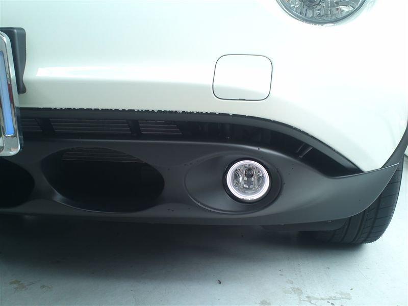 2011-2014 Nissan Juke Angel Eye Fog Lamps Driving Light Kit