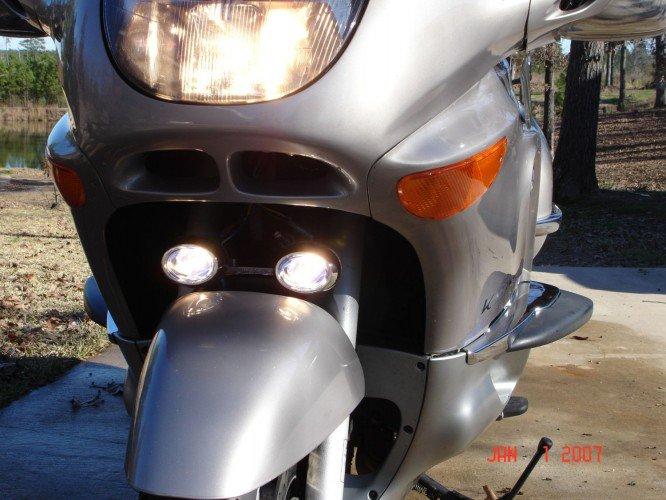 BMW K1200LT Xenon Fog Lamps Driving Lights Kit