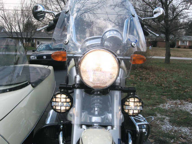 BMW R1200C R1200CL R1200CLC R850C PIAA 510 Star White Driving Lights Kit