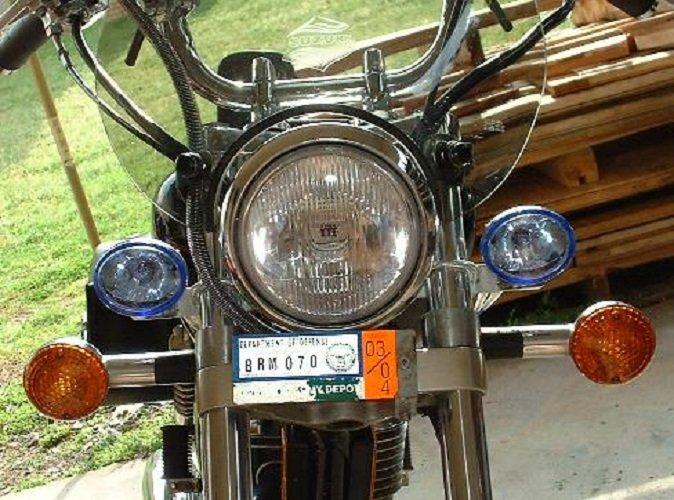 Suzuki LS650 Savage Xenon Halogen Fog Lamps Driving Light Kit �