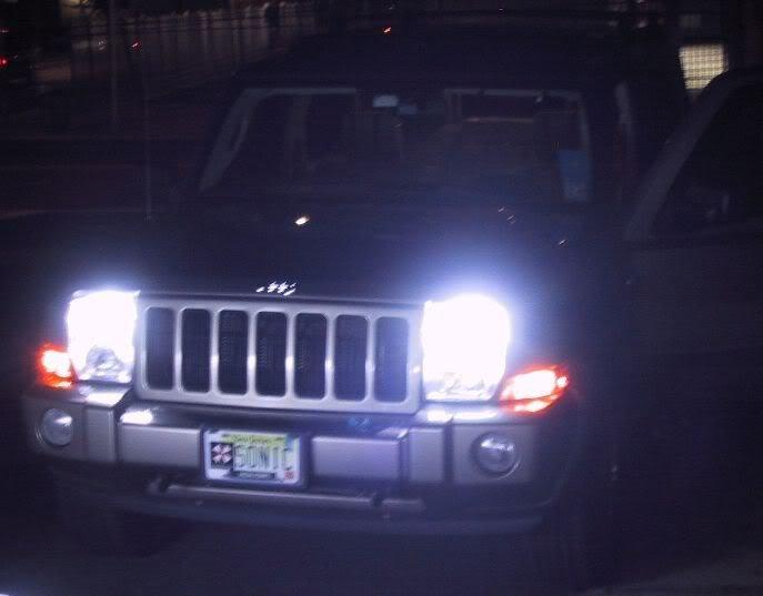 Jeep Commander Headlamp Xenon HID Conversion Kit