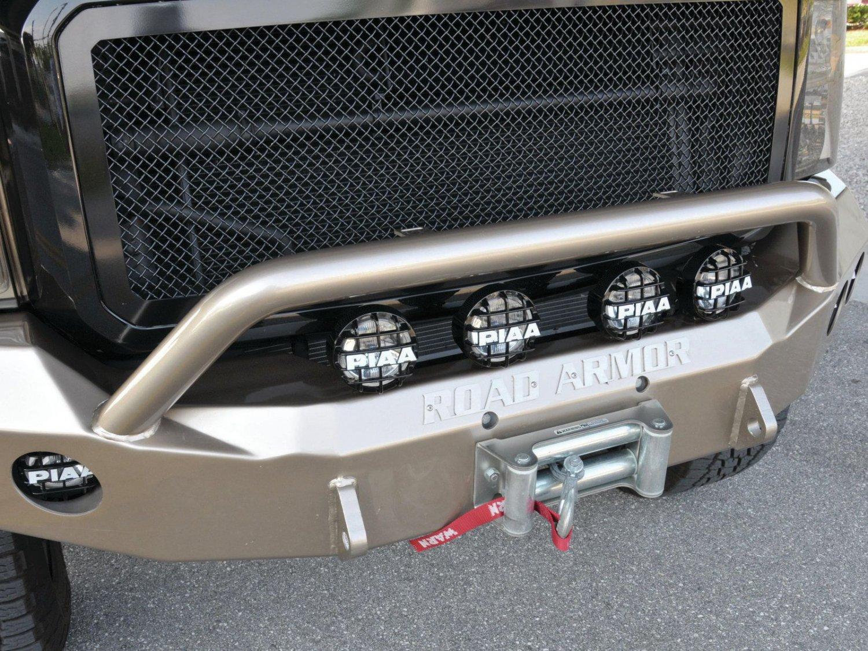 PIAA 510 Driving Lamps for Ford Super Duty Road Armor Bumper F-250 F-350 F-450