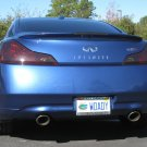Infiniti G25 G37 Tinted Smoked Taillamps Taillights Overlays Film Protection