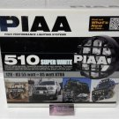 PIAA 510 Round 4in Super White Driving Lamp Kit ( 5164 )