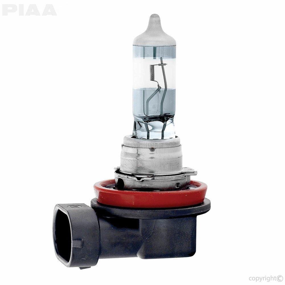 Single PIAA H11 Night Tech 3600K Xtra 55w = 110w Light Bulb ( 11711 )