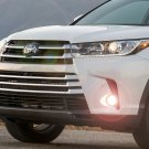 2017 2018 2019 Toyota Highlander Fog Lamps Driving Lights Kit