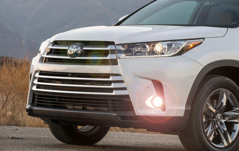 2017 2018 2019 Toyota Kluger Fog Lamps Driving Lights Kit