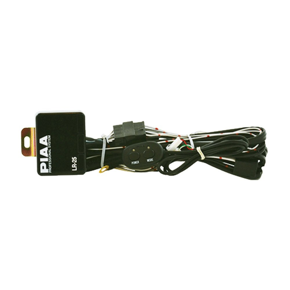 piaa 34088 driving light wiring harness for use with rs800 halogen shock l