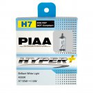 PIAA H7 Hyper Plus 4000K Xtra 55w=110W Brilliant White Light Bulbs