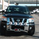 PIAA Black 4x Lamp Bumper Bar for 2004-2015 Nissan Armada / Titan Front
