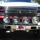 PIAA Black 4x Lamp Bumper Bar for 2007-2013 Chevrolet Silverado 1500 Front