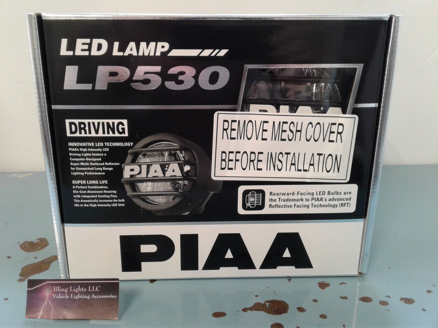 PIAA LP530 LED Driving Lamp Kit 5372