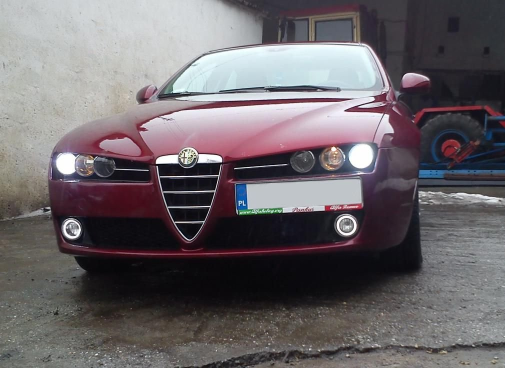 2006-2011 Alfa Romeo Brera and Spider Angel Eye Fog Lamps Lights