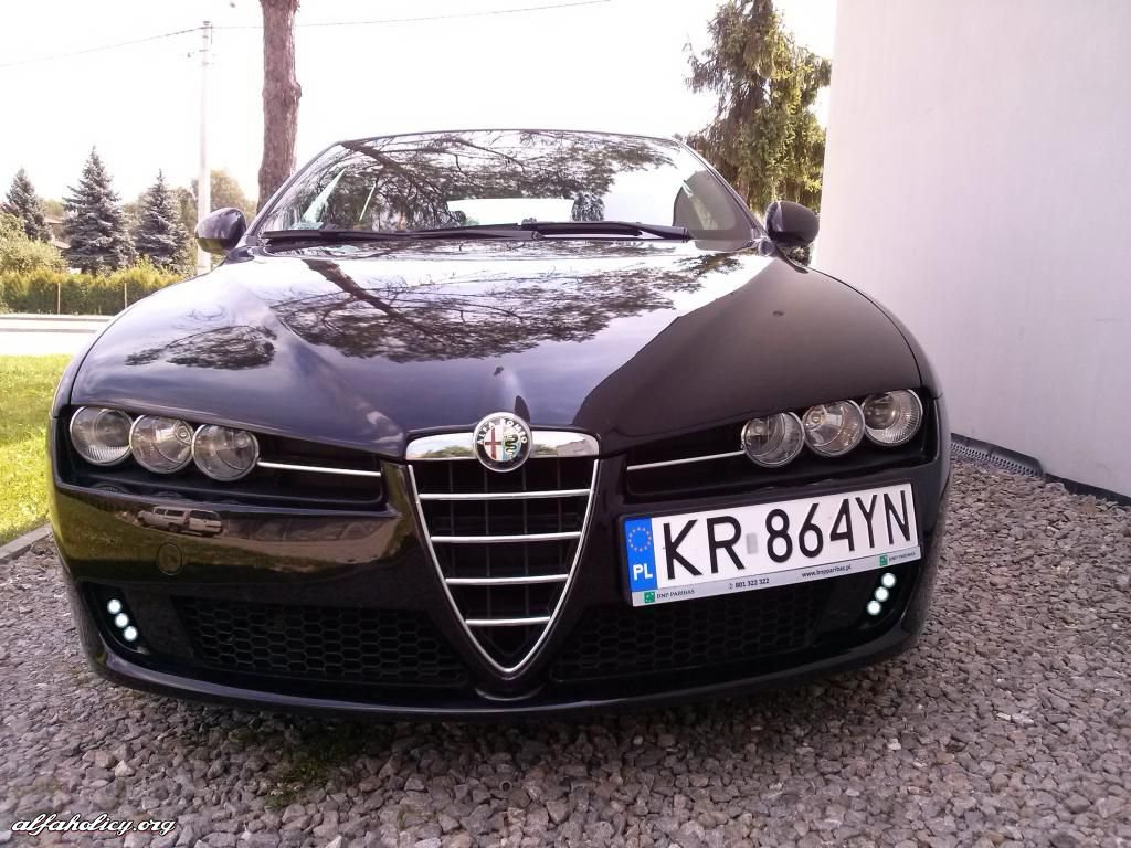 Alfa Romeo Brera and Spider PIAA LED DRL Daytime Running Lamp Kit