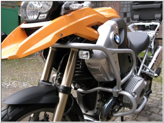 Driving Lamps for 2008-2012 BMW R1200GS with Hepko-Becker Bar