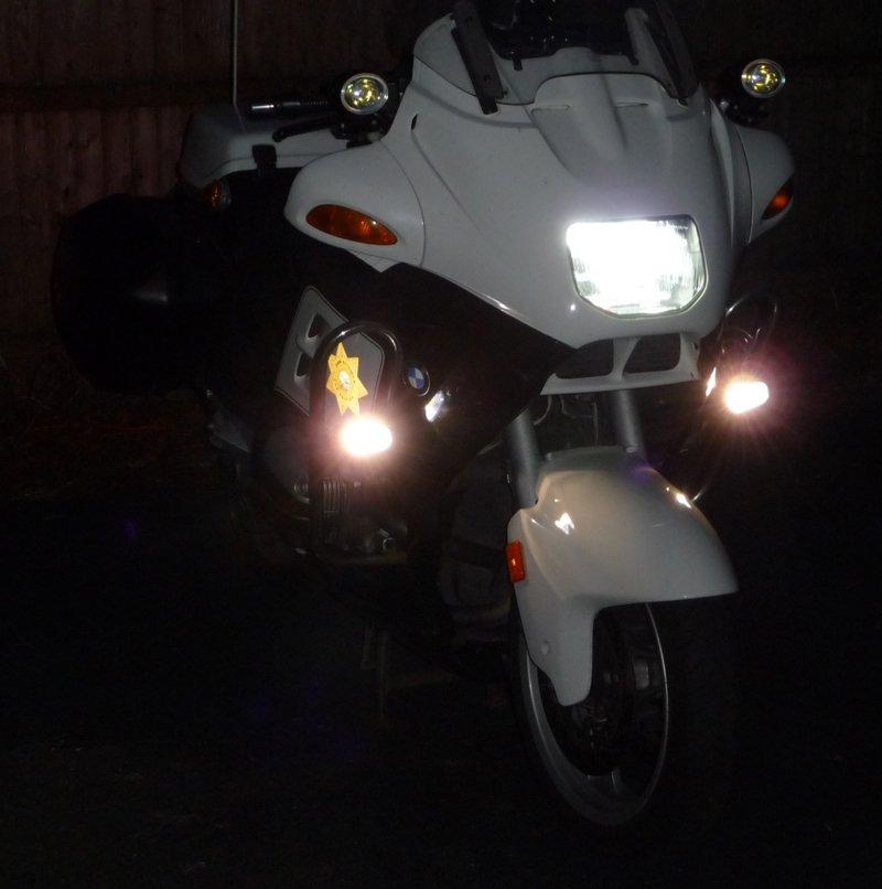 Super White Halogen Head Light Bulbs for BMW R1100RT R1100 RT SE Police
