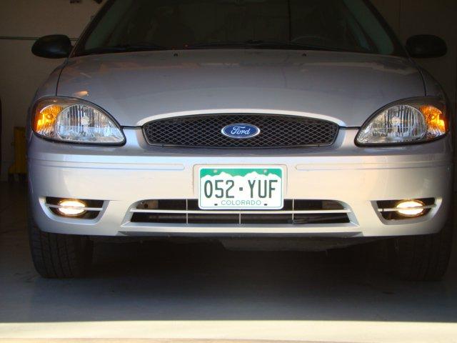 2004 2005 2006 2007 Ford Taurus 6000K Fog Lamps Driving Lights Kit